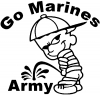 Go Marines Pee On Army
