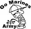 Go Marines Pee On Army