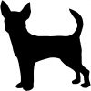 Chihuahua Dog Animals car-window-decals-stickers