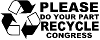 Please Recycle Congress