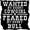 Wanted By Cowgirls Feared By Bulls