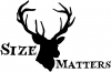 Size Matters Big Buck Decal