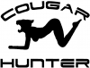 Cougar Hunter Decal