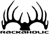 Rackaholic Hunting Decal