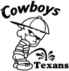 Cowboys Pee On Texans Decal