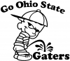 Go Ohio Pee On Gaters Decal