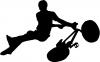 BMX Trick Decal