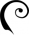 Single Line Swirl Wall Decal