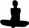 Yoga Pose Decal
