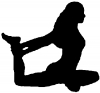 Yoga Pose Decal