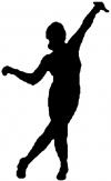 Dancer Decal Girlie car-window-decals-stickers