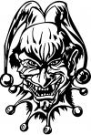 Mean Joker Decal