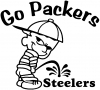 Go Packers Decal