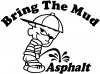 Bring The Mud Pee On Asphalt Off Road Decal