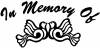 In Memory Of Turtle Doves Decal