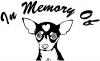 In Memory Of Chihuahua Decal