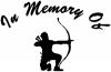 In Memory Of Archer Bow Hunter Decal