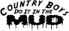 Country Boys Do It In the Mud Decal