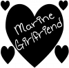 Marine Girlfriend Decal