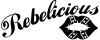 Rebelicious Dixie Lips Decal Girlie car-window-decals-stickers
