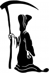 Grim Reaper Decal Skulls car-window-decals-stickers