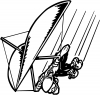 Para Sailing Gliding Decal