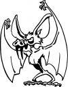 Bad little Bat Decal  Animals car-window-decals-stickers