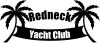 Redneck Yacht Club Country car-window-decals-stickers