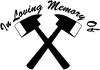 In Memory Of Fireman Other car-window-decals-stickers