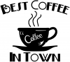 Best Coffee in Town Cafe Diner