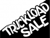 Truckload Sale Window Decal Sign