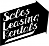 Sales Leasing Rentals Advertisement Decal