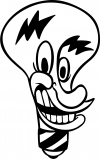 Electrician Light Bulb