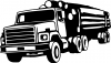 Logging Truck Business Car Truck Window Wall Laptop Decal Sticker