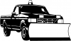 Snow Plow Truck Business Car Truck Window Wall Laptop Decal Sticker