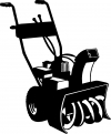 Snow Blower Business Car Truck Window Wall Laptop Decal Sticker