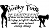 Honky Tonk Badonkadonk Country Car Truck Window Wall Laptop Decal Sticker
