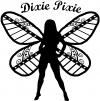 Dixie Pixie Fairy With Text