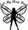 Eat My Dixie Dust Pixie Fairy