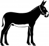Donkey Jackass Mule Animals car-window-decals-stickers