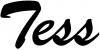 Tess Names Car Truck Window Wall Laptop Decal Sticker