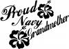 Proud Navy Grandmother Hibiscus Flowers