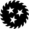 Saw Blade With Stars