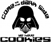 Darth Vader Dark Side Cookies