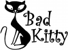 Slim Cat Bad Kitty Animals car-window-decals-stickers