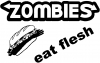 Funny Zombies Eat Flesh