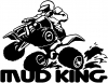 Mud King 4 Wheeler