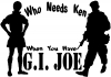 Who Needs Ken You Have GI Joe