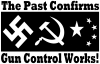 Gun Control Works Hunting And Fishing car-window-decals-stickers