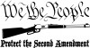 Protect The Second Amendment Anti Gun Control Hunting And Fishing car-window-decals-stickers